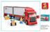 piece city freight truck building blocks