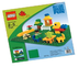 lego duplo green building plate base