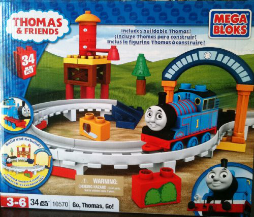 Mega Blocks Thomas And Friends Go